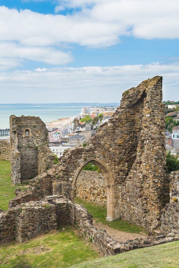Замок Hastings стоковое изображение rf