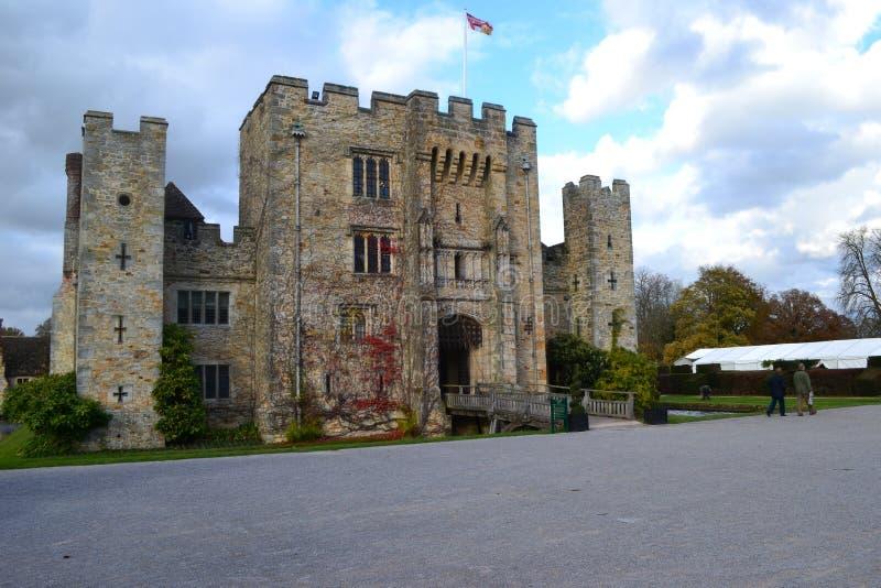 Замок Hever стоковые фотографии rf
