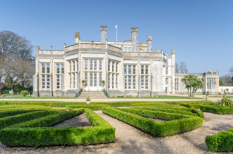 Замок Highcliffe стоковые фото