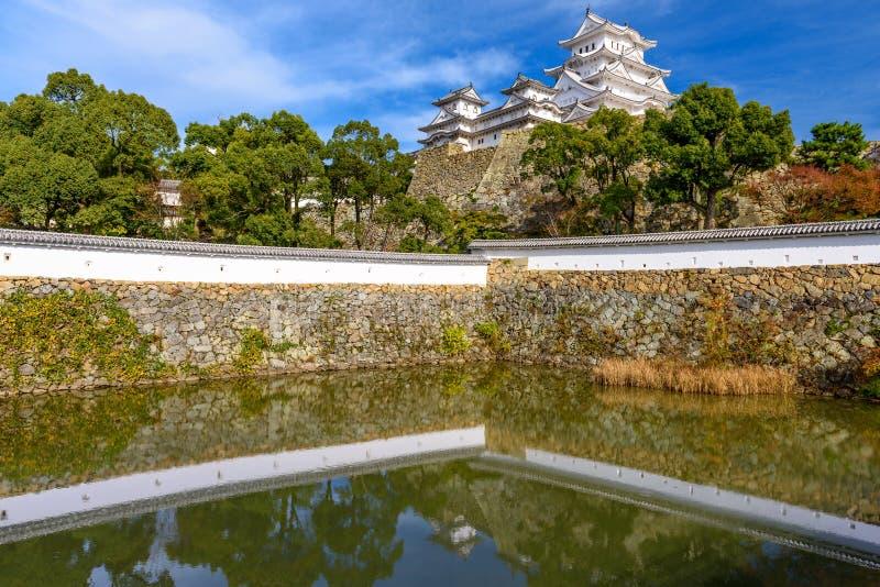 Замок Himeji, Япония стоковые фотографии rf