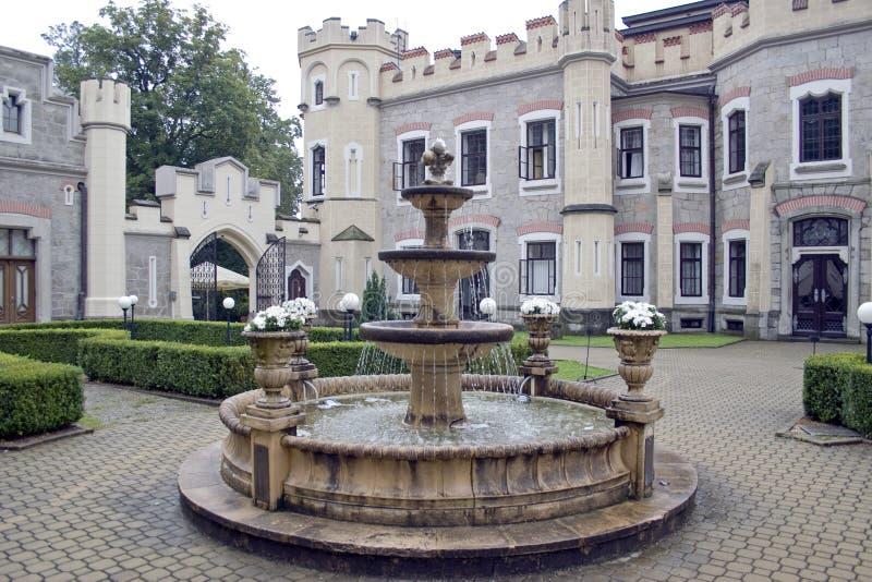 Замок Hluboka стоковая фотография