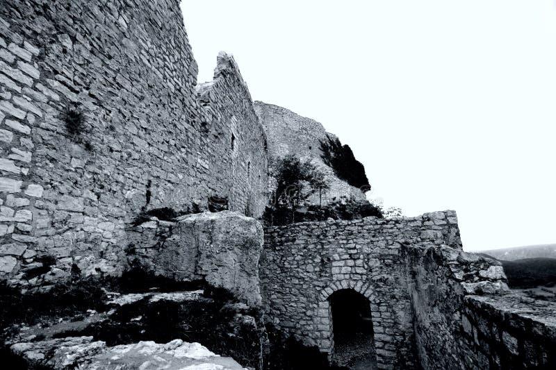 замок hohen neuffen стоковое изображение