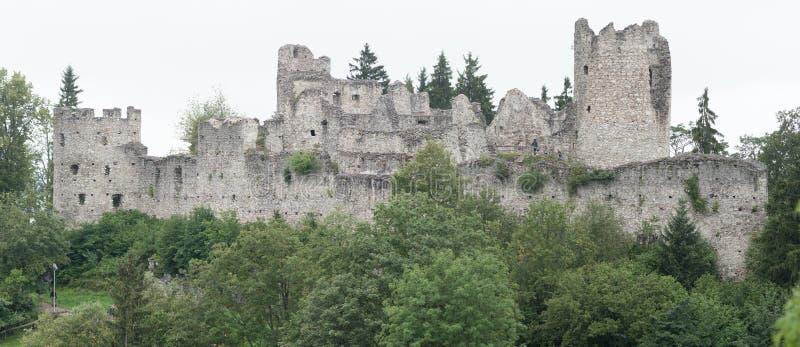 Замок Hohenfreyberg на Айзенберге стоковое изображение