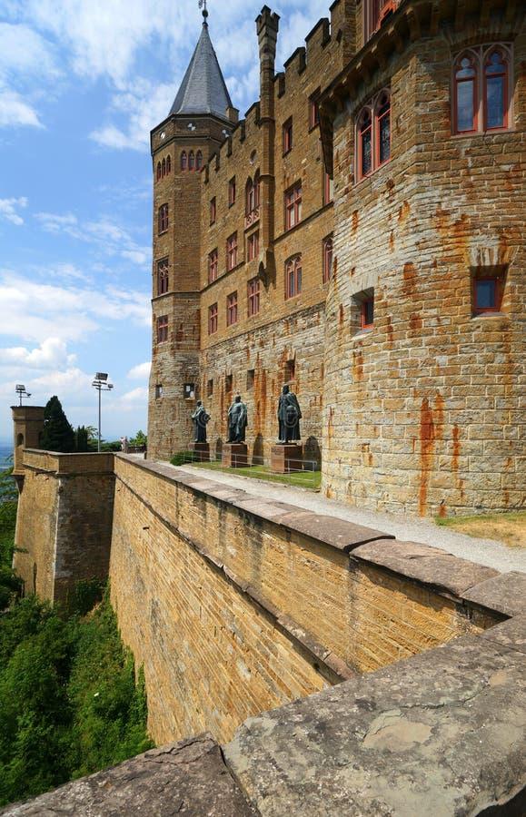 замок hohenzollern стоковые фото