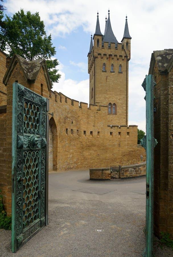 замок hohenzollern стоковые изображения rf