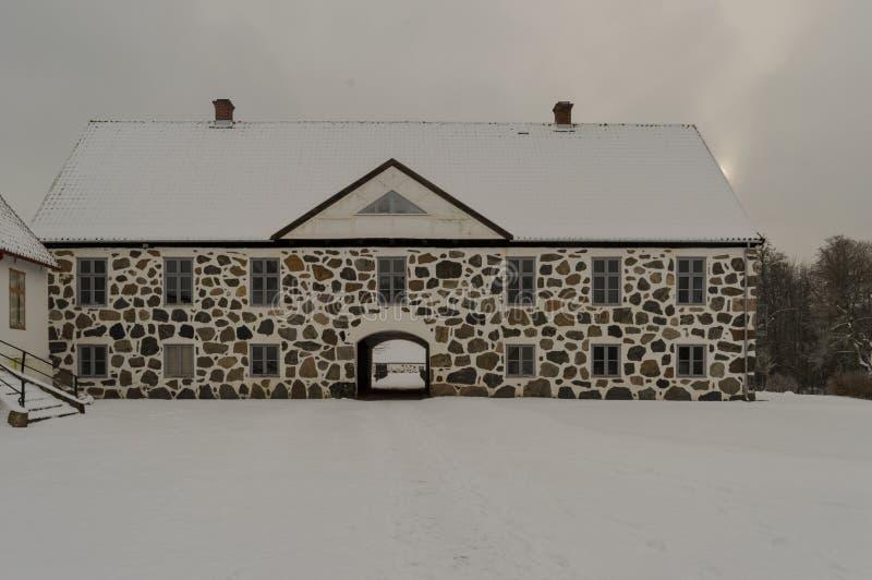 Замок Hovdala стоковое фото