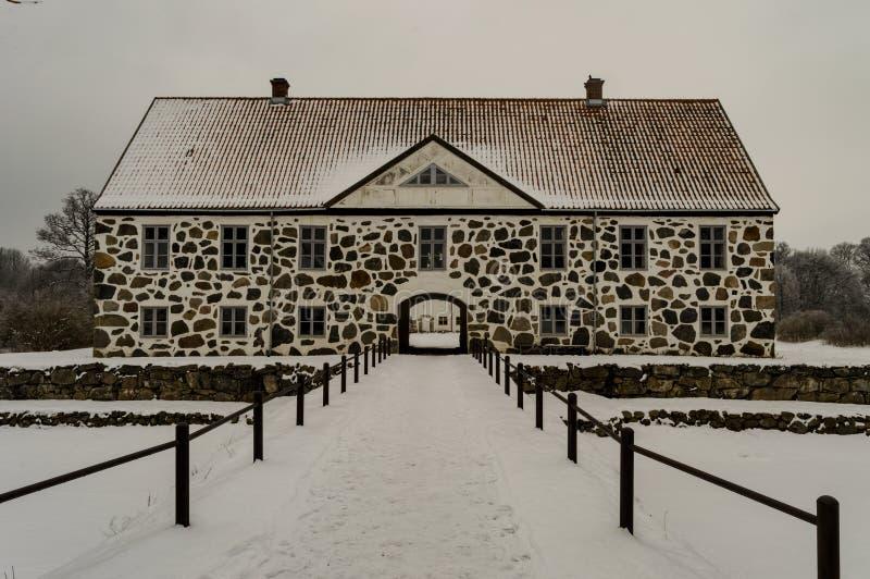 Замок Hovdala стоковые фото