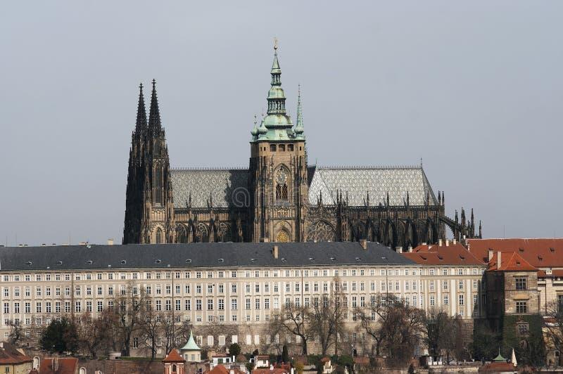 замок hradacany prague стоковая фотография