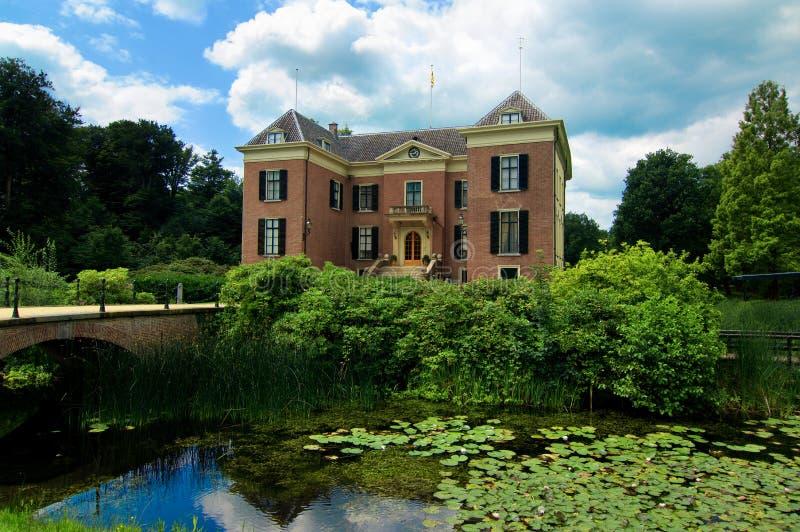Замок Huis Doorn Нидерланды стоковые фотографии rf
