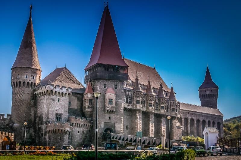 Замок Hunyad стоковое фото