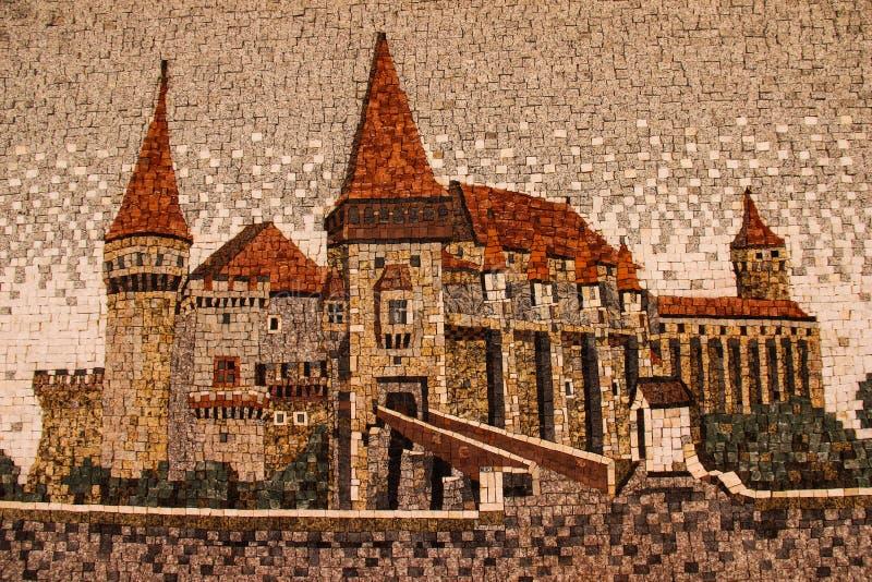 Замок Hunyadi/замок Hunedoara/замок Corvin стоковая фотография rf
