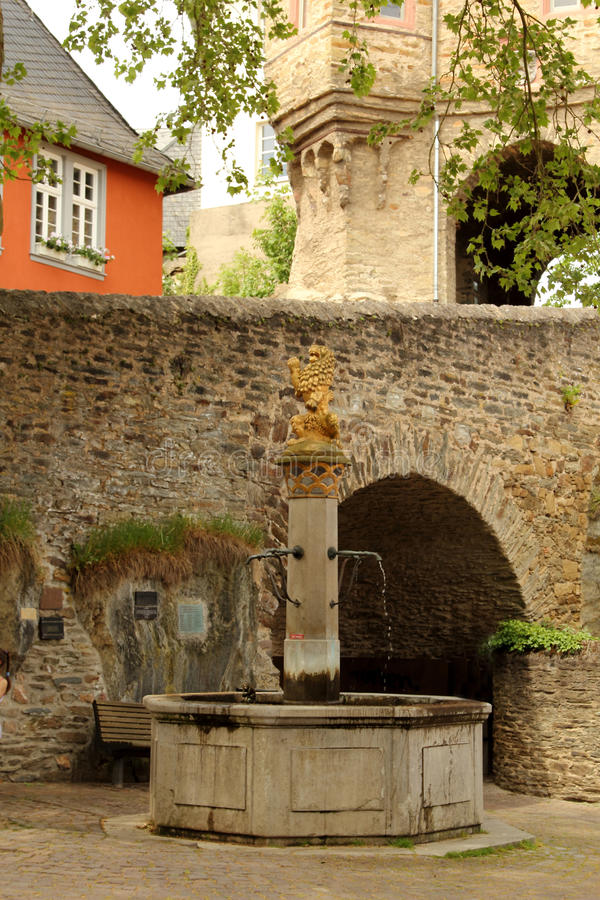 Замок Idstein, Германии стоковые изображения rf