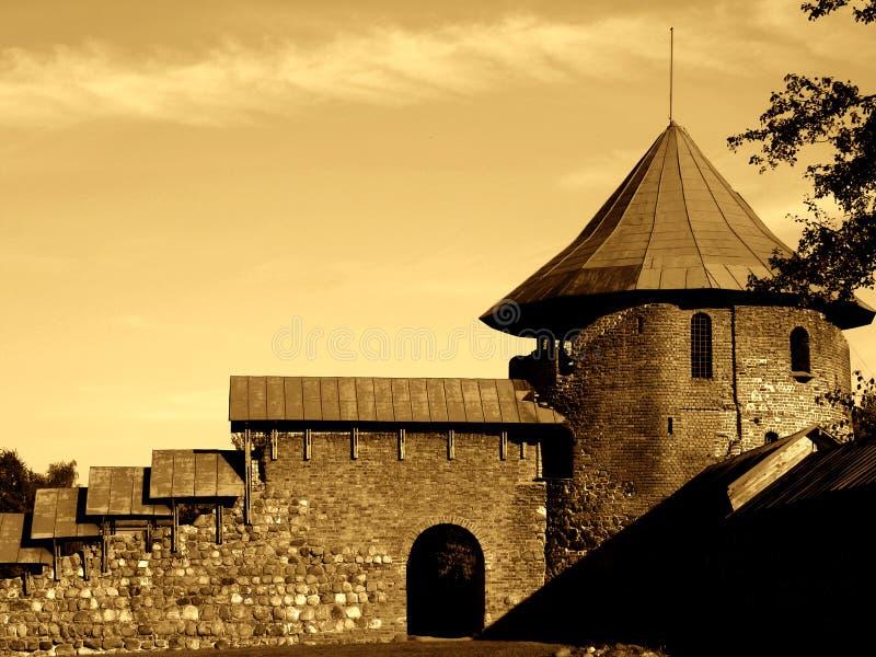 замок III старое стоковое фото