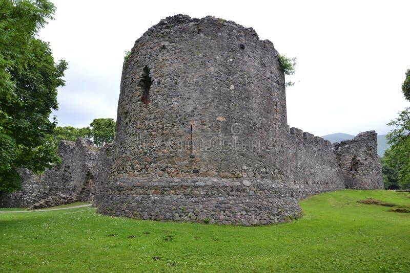 Замок Inverlochy около Fort William в Шотландии, Великобритании стоковые изображения