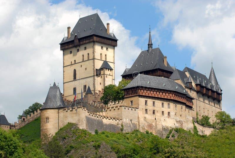 Замок Karlstejn стоковое изображение rf