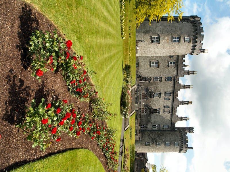 замок kilkenny стоковое изображение rf