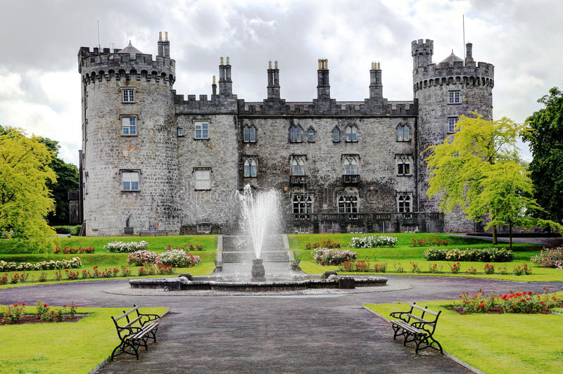 Замок Killkenny, Ирландия стоковая фотография rf