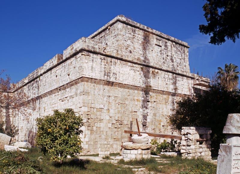 Замок, Kolossi, Кипр стоковое изображение rf