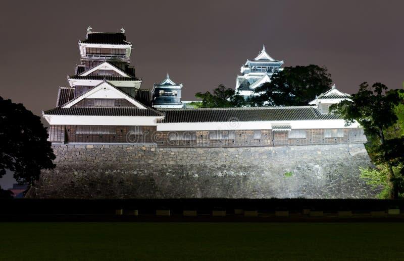 замок kumamoto стоковая фотография rf