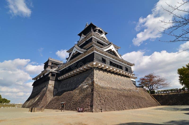 Замок Kumamoto стоковое изображение