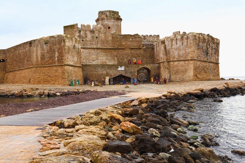 замок le castella стоковое фото rf