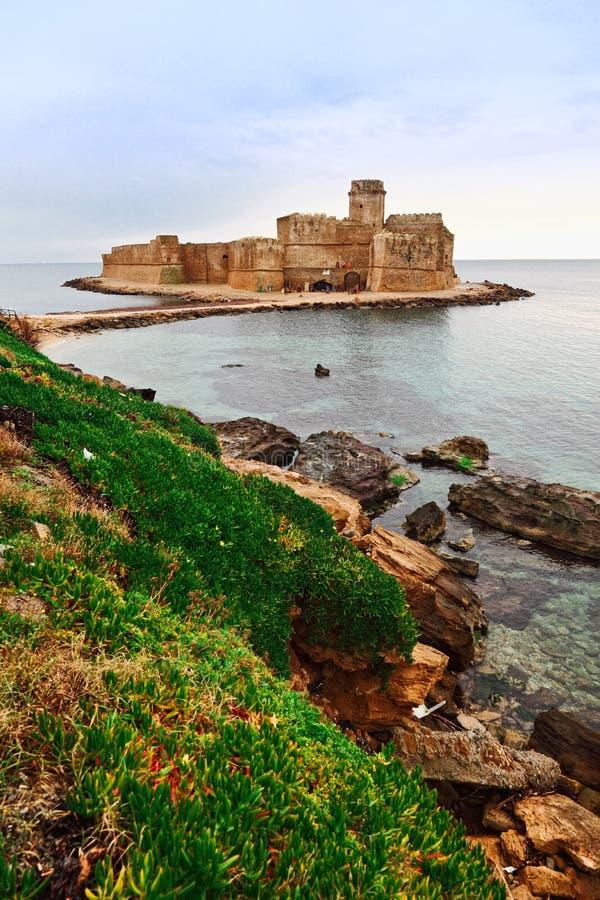 замок le castella стоковое изображение rf