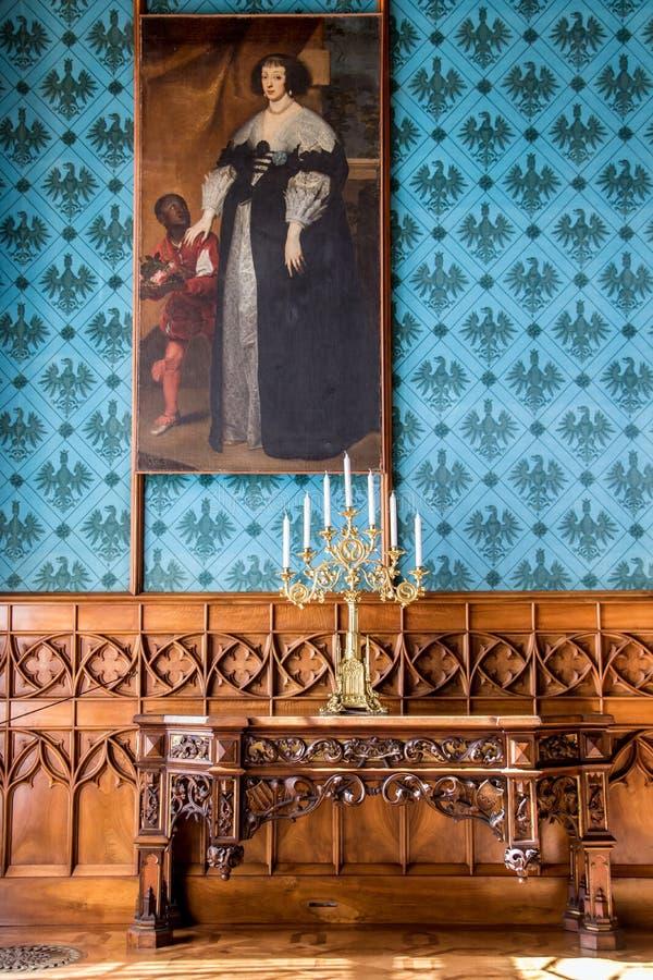 Замок Lednice, Чешская республика стоковое изображение rf