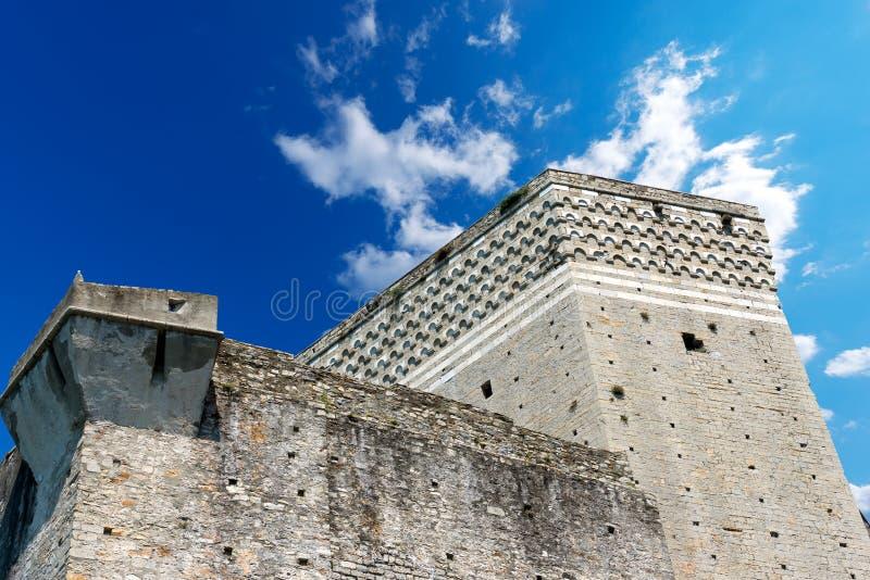 Замок Lerici - Лигурии Италии стоковые фотографии rf