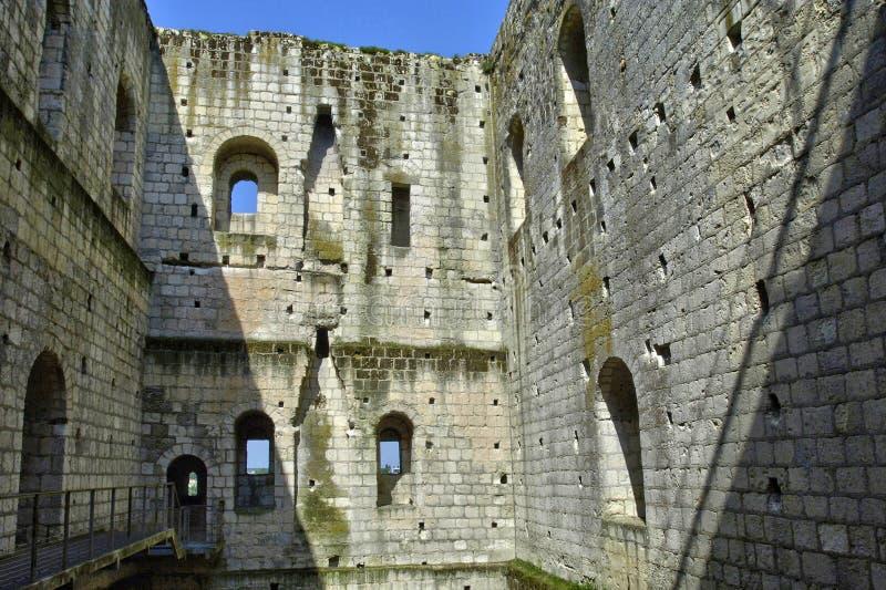 Замок Loches в Эндре et Луаре стоковая фотография rf