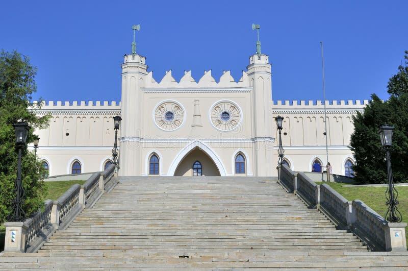замок lublin Польша стоковые изображения rf