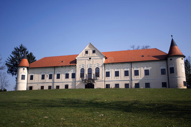 Замок Luznica около Zapresic стоковые фотографии rf