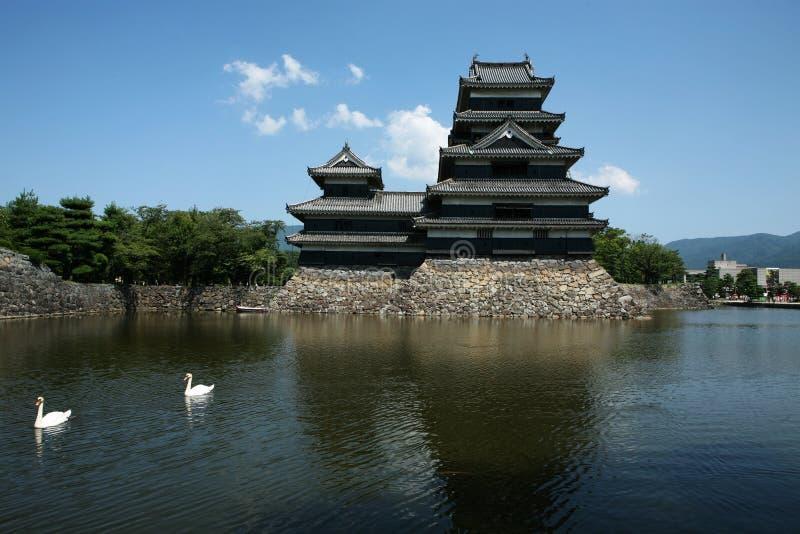 замок matsumoto стоковое изображение rf