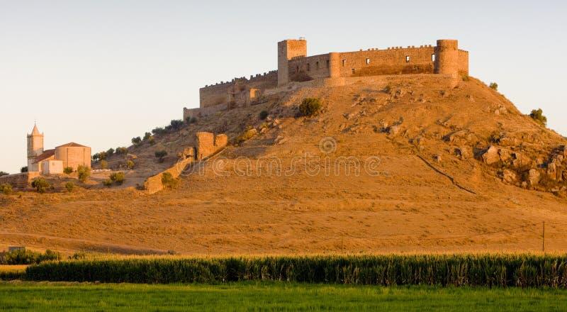 замок medellin стоковое изображение rf