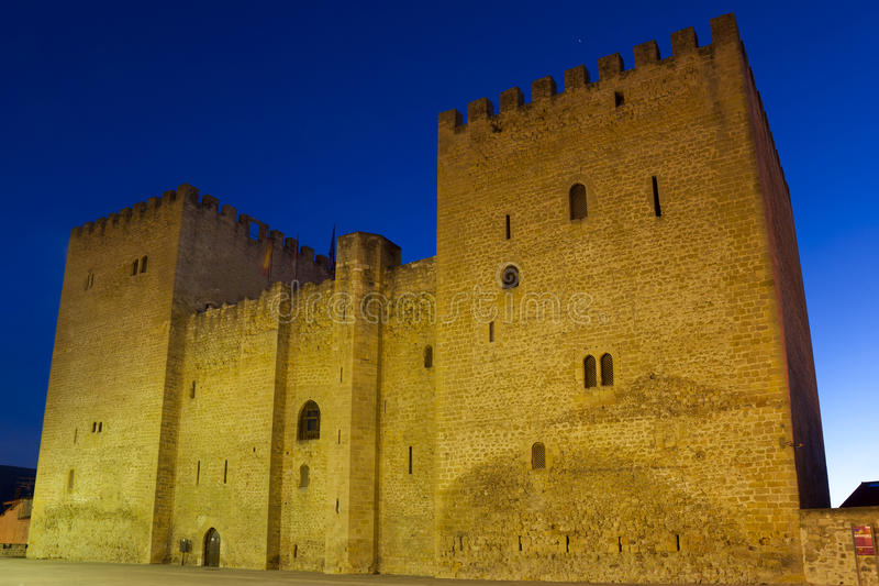 Замок Medina de Pomar стоковое изображение