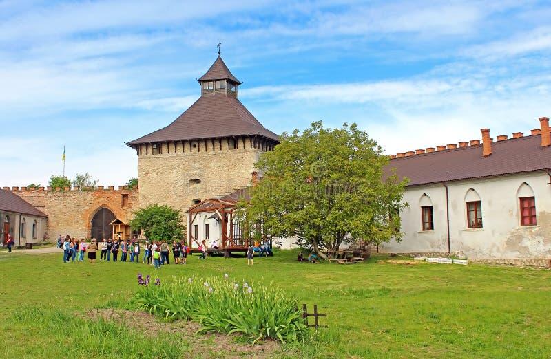Замок Medzhybizh, Украина стоковое фото rf