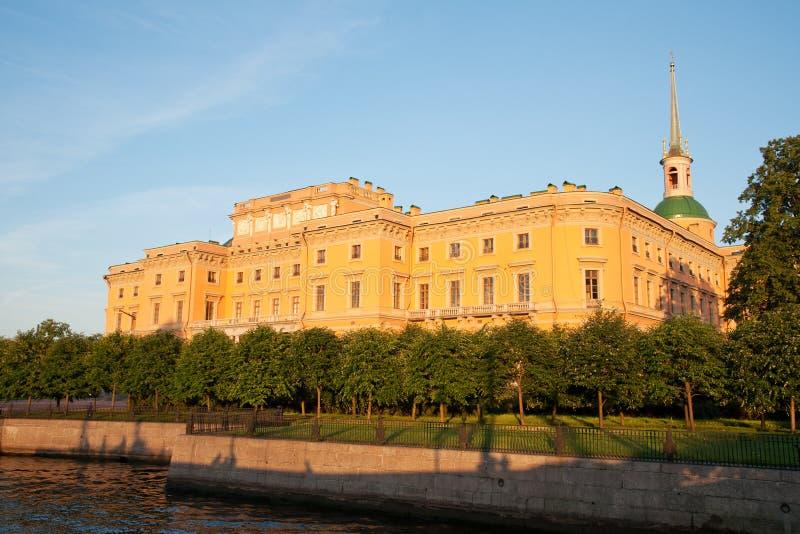 замок mikhailovsky стоковая фотография