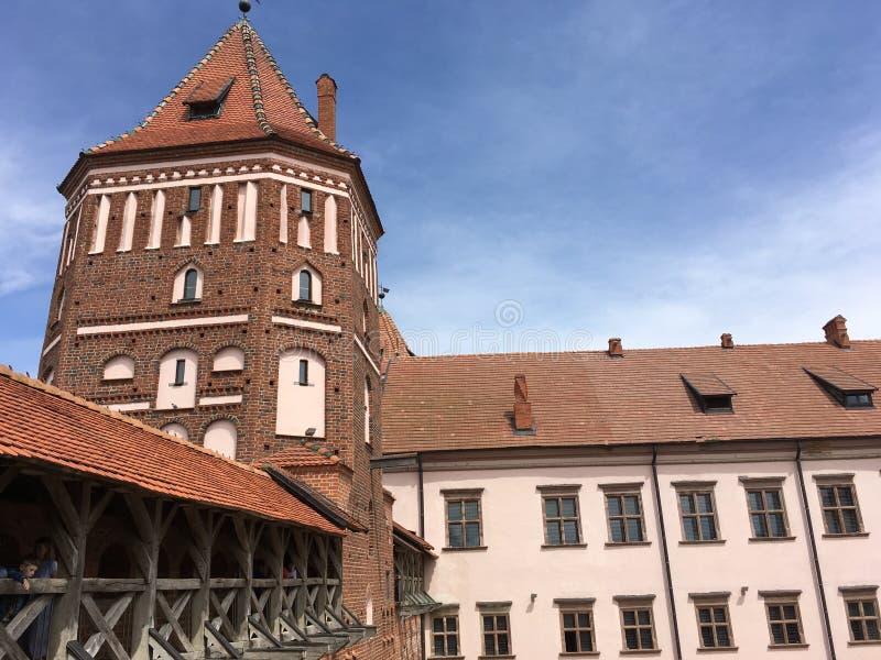 Замок Mir стоковая фотография rf