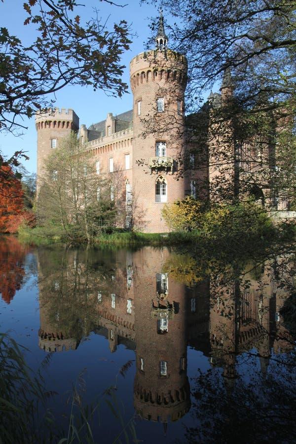 Замок Moyland стоковое изображение rf
