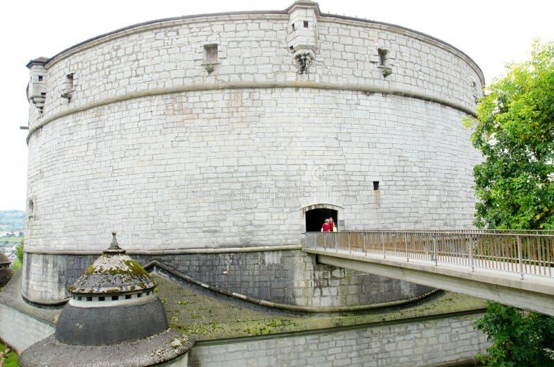 Download Замок Munot, Schaffhausen, Швейцария Стоковое Фото - изображение насчитывающей средне, поджога: 33735378