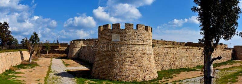 Замок Othello в Famagusta стоковое фото rf