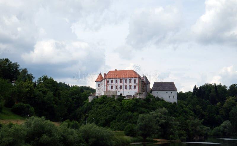 Замок Ozalj, Хорватия стоковые фото