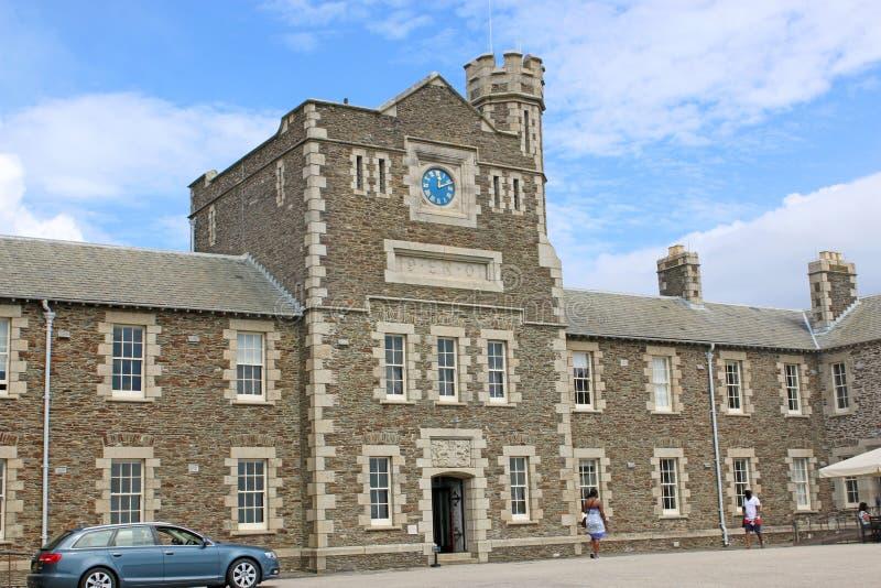 Замок Pendennis, Корнуолл стоковое изображение