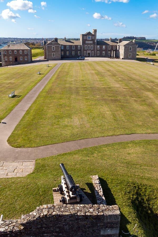 Замок Pendennis стоковая фотография rf