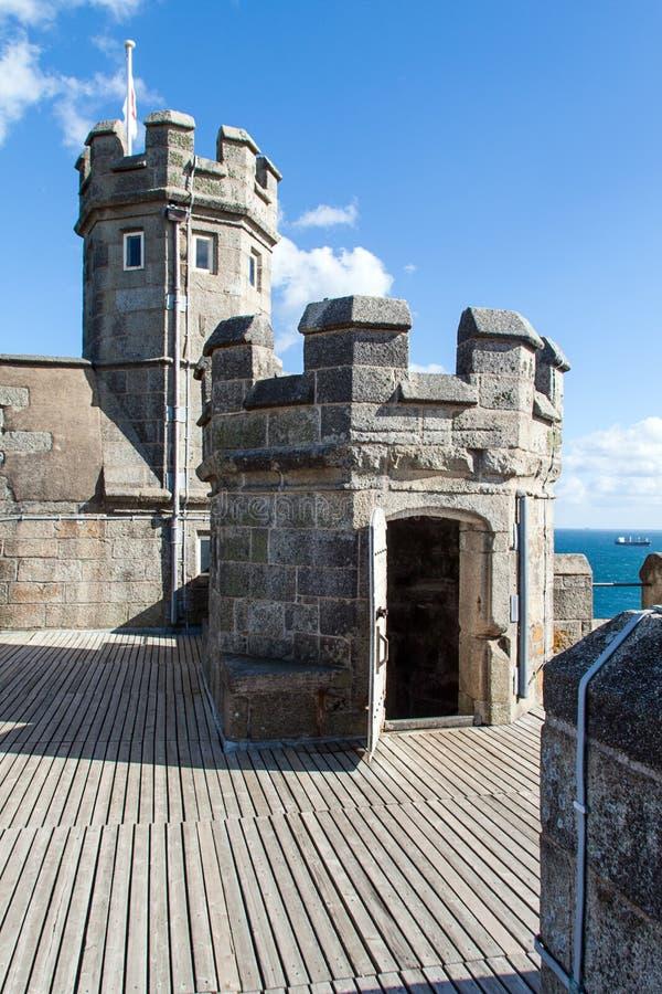 Замок Pendennis стоковое фото rf