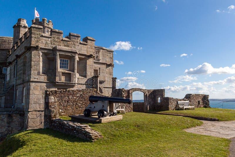 Замок Pendennis стоковое фото