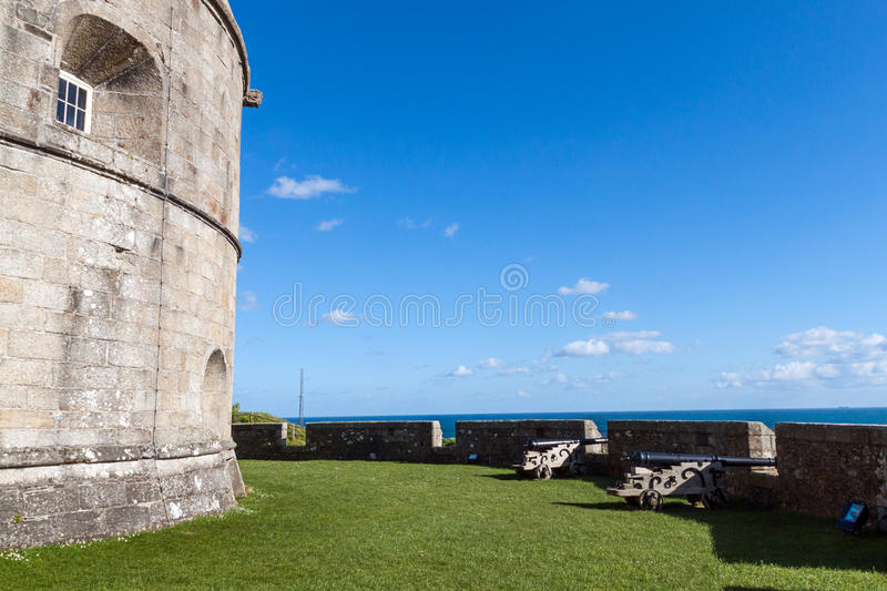 Замок Pendennis стоковая фотография