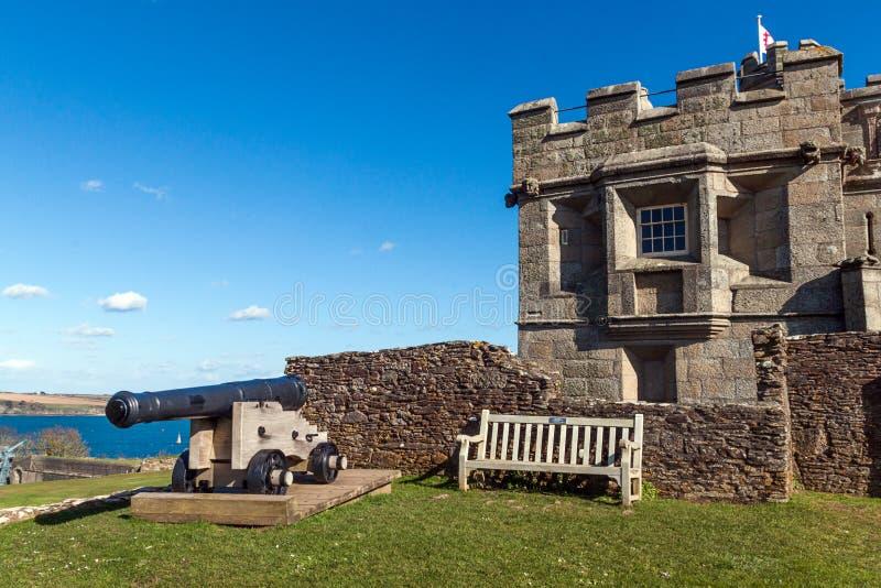 Замок Pendennis стоковые изображения rf