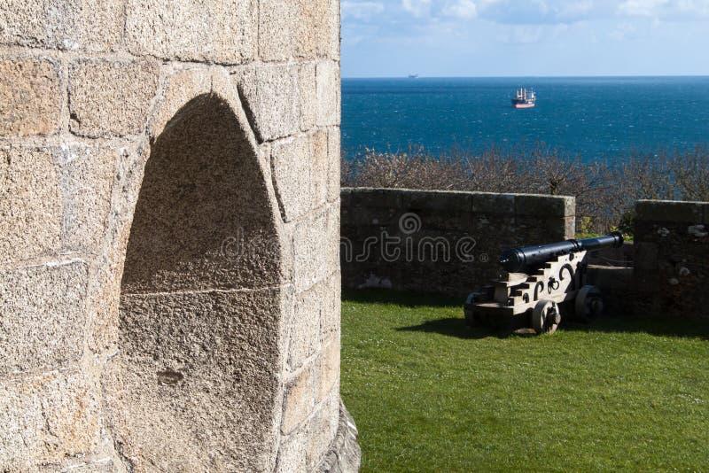 Замок Pendennis стоковые изображения