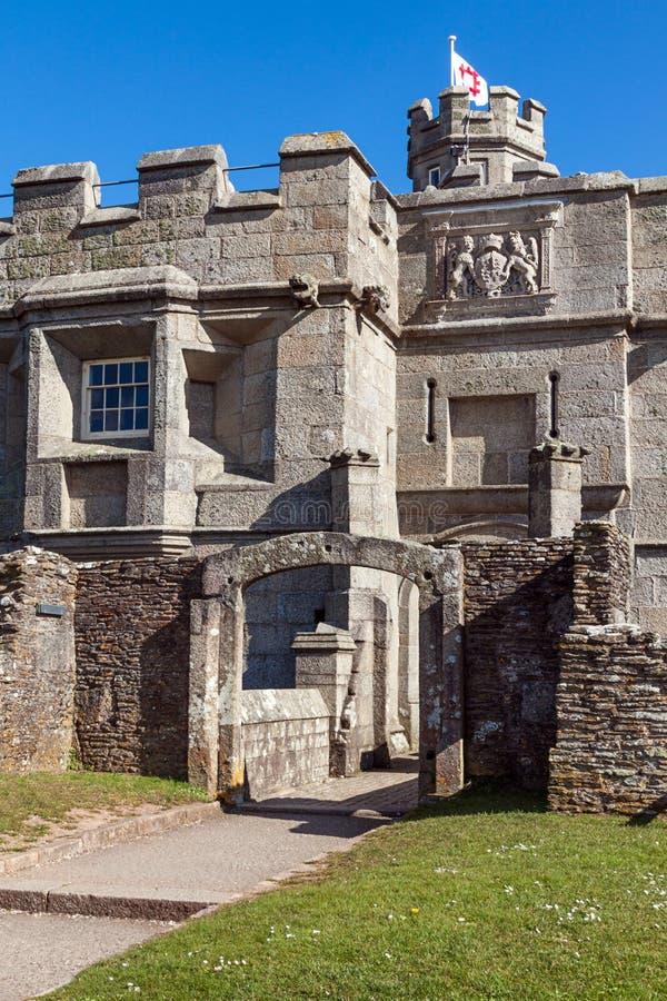 Замок Pendennis стоковое изображение rf