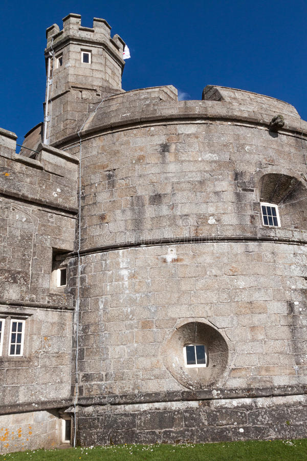 Замок Pendennis стоковое изображение
